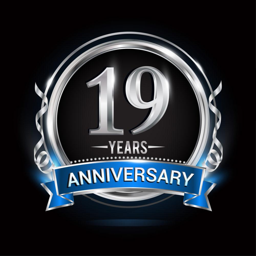 celebrating 19 years